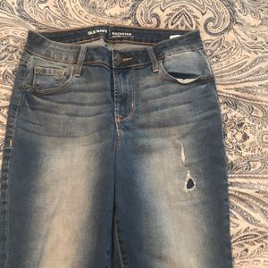 Old Navy Rockstar high rise jeans